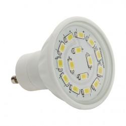 Výkoná Led žárovka Kanlux LED15 SMD C 5W 420lm GU10-CW studená bílá - AKCE