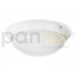 PANLUX OLGA S přisazené stropní a nástěnné kruhové svítidlo se senzorem 60W, bílá (OS-60/B)