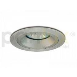 Bodové svítidlo Panlux PEVNÝ PODHLED KULATÝ, stříbrný (aluminium) (KPD-HR50/AL) KPD-HR50/AL Panlux