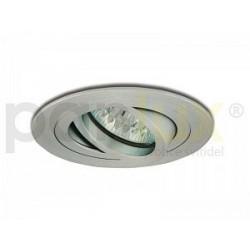 Bodové svítidlo Panlux VÝKLOPNÝ PODHLED KULATÝ, stříbrný (aluminium) (KVD-HR50/AL)