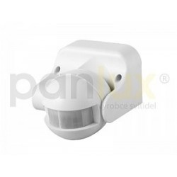 AKCE - Panlux LEDMED SENZOR PIR IP44 pohybové čidlo 180°, bílá