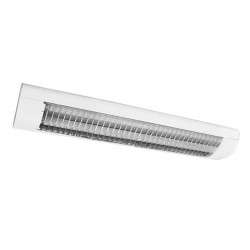 Zářivkové svítidlo Kanlux  OFRA TL-218B-W bílé přisazené