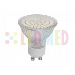 Led žárovka Panlux LEDMED LED60 SMD GU10 3,5W 220lm teplá bílá