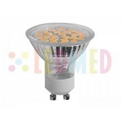 Led žárovka Panlux LEDMED LED24 SMD A24 GU10 3W 310lm teplá bílá