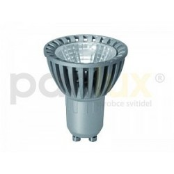 Výkoná Led žárovka Panlux COB LED 5W 1COB GU10 400lm teplá bílá