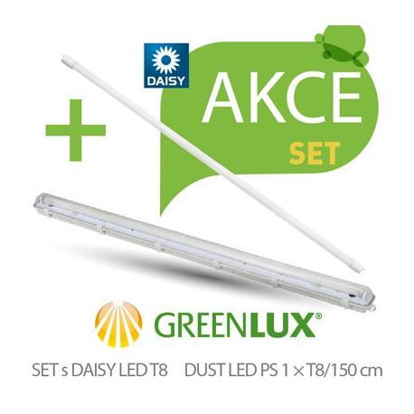 Akční SET Greenlux SET DUST DAISY LED PS 1xT8 150 (GXWP268)