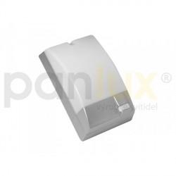 Panlux PORTO S venkovní nástěnné svítidlo se senzorem, stříbrná (POS-60/CH)
