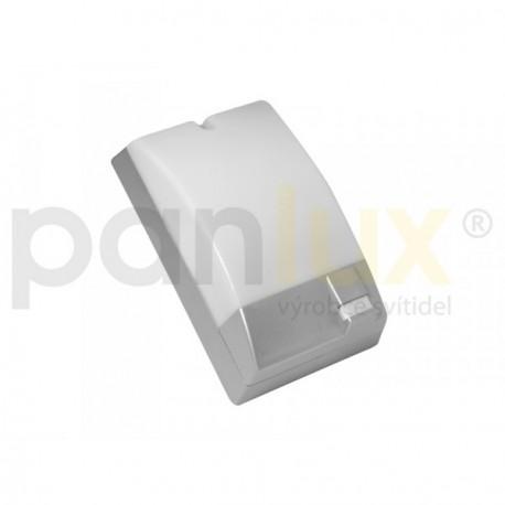 Venkovní nástěné svítidlo se senzorem PORTO S 60W E27 IP44 stříbrné Panlux (POS-60/CH)