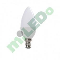 AKCE - Led žárovka Kanlux MIO LED6W C37 E14 WW teplá bílá (30216)