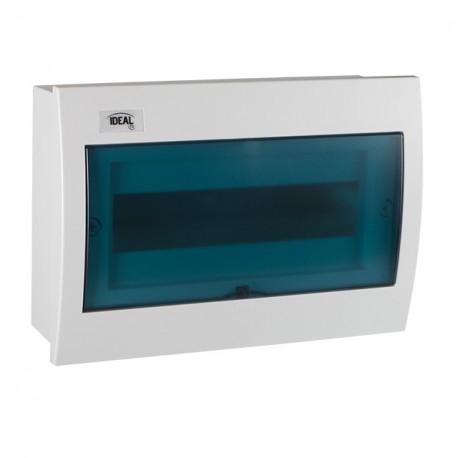 Plastový rozvaděč Kanlux IDEAL KDB-F12T vestavný (23618)