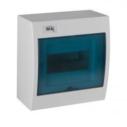 Plastový rozvaděč Kanlux IDEAL KDB-S08T na povrch (23611)