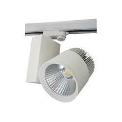 LED reflektor na lištu 20W 1830 lm, bílá, neutrální bílá 4000K