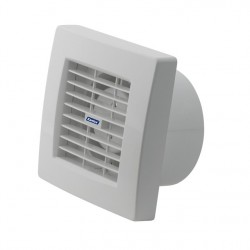 Ventilátor Kanlux TWISTER AOL 120T, žaluzie, časovač (70960)