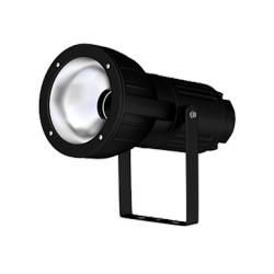 Metalhalogenidový reflektor QUIDO 70 MH SYMETRIC KVG BLACK RAL 9003 G12 IP65