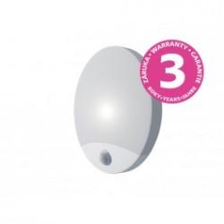 Panlux OLGA S LED přisazené stropní a nástěnné kruhové svítidlo se senzorem 10W, bílá