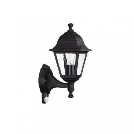 MASSIVE venkovní svítidlo Lima E27 se senzorem černá (71422/01/30)