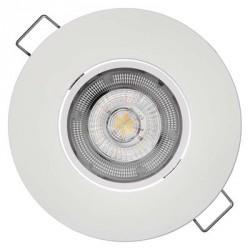 EMOS LED bodové svítidlo Exclusive bílé 5W teplá bílá