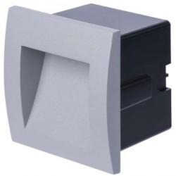 EMOS LED orientační vestavné svítidlo 90×90, 1W teplá bílá IP65