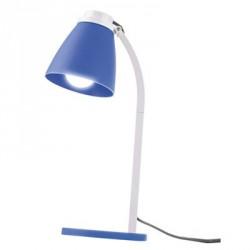 EMOS Stolní lampa Lolli s LED žárovkou, modrá