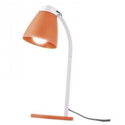 EMOS Stolní lampa Lolli s LED žárovkou, oranžová