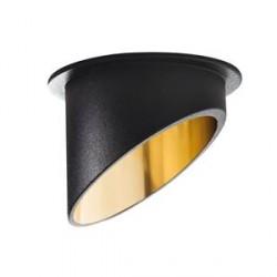 Bodové svítidlo Kanlux SPAG C B/G černá/zlatá (27324)