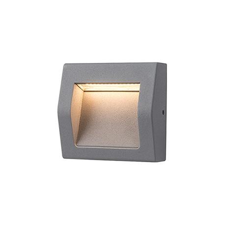 LED svítidlo Greenlux WALL 40 3W GRAY NW neutrální bílá (GXPS061)