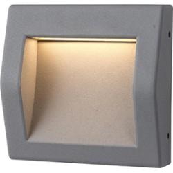 LED svítidlo Greenlux WALL 50 6W GRAY NW neutrální bílá (GXPS064)