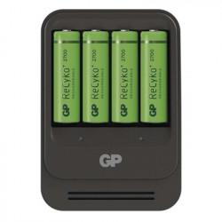 MOS GP nabíječka baterií PB570 + 4AA GP ReCyko+ 2700