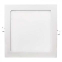 EMOS LED panel 220×220, čtvercový vestavný bílý, 18W teplá bílá