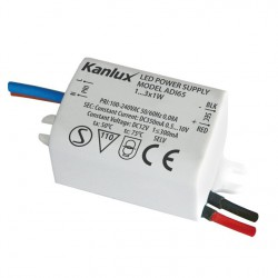 Led transformátor Kanlux ADI 350mA 1-3W  (01440)