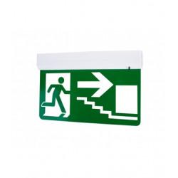 PANLUX EUROPA LED KOMPLET nouzové svítidlo s piktogramem schody dolů