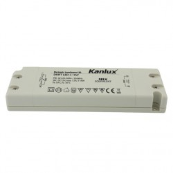 Led transformátor Kanlux DRIFT LED 3-18W  12V DC (08550)