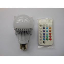 Led žárovka LQ LED A60 RGB AL 4W + ovladač Narva