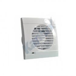 Ventilátor s kuličkovými ložisky Kanlux TWISTER AERO 100 tah. vypínač, vidlice 230V  (70972)