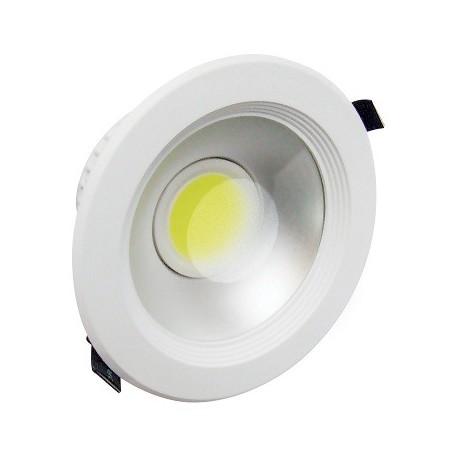 DOPRODEJ - Svítidlo Led vestavné Greenlux LED MCOB LYRA White 30W WW teplá bílá - doprodej (GXDW031)