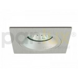Bodové svítidlo Panlux PEVNÝ PODHLED HRANATÝ, stříbrný (aluminium) (HPD-HR50/AL)