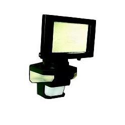 Panlux VANA S venkovní reflektorové svítidlo se senzoremem a LED přisvícením, černá - teplá bílá