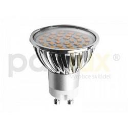 Výkoná Led žárovka Panlux LED SMD C30 GU10 4W 420lm studená bílá