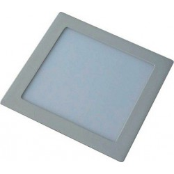 Svítidlo vestavné Greenlux LED90 VEGA-S Silver 18W WW teplá bílá (GXDW057)