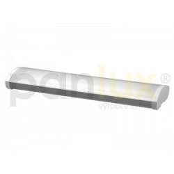 AKCE - Panlux OFFICE přisazené stropní zářivkové svítidlo EVG,  2x36W, prizm + zdarma 2x T8 36W/840 (VP-EP-8223640)