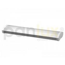 AKCE - Panlux OFFICE přisazené stropní zářivkové svítidlo EVG 2x58W, prizm. kryt. + zdarma 2x trubice T8 58W/840 (VP-EP-8225840)