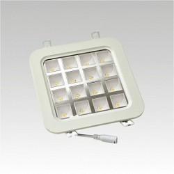 Led svítidlo NARVA   ICARUS LED QUADRO 16W WARM IP40 teplá bílá
