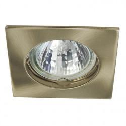 Bodové svítidlo Kanlux  NAVI CTX-DS10-AB mosaz s platinou
