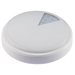 AKCE - Přisazené prachotěsné svítidlo v moderním designu LED LUCY-R White 8W NW IP54 neutrální bílá (GXLS230)