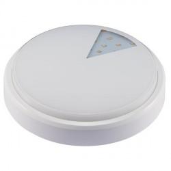 AKCE -  Přisazené prachotěsné svítidlo v moderním designu LED LUCY-R White 12W NW IP54 neutrální bílá (GXLS232)