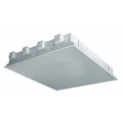 Zářivkové svítidlo MODUS svítidlo IKO 18Wx4 priz. kryt/předřadník, podhledové/do rastru IKP418EP