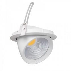 Led svítidlo vestavné typu downlight Kanlux HIMA MCOB 30W-NW-W (22840)