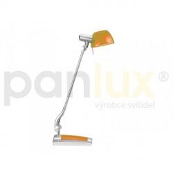 AKCE - Panlux GINEVRA UNO stolní lampička, oranžová