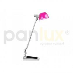 AKCE - Panlux GINEVRA UNO stolní lampička, růžovo-černá