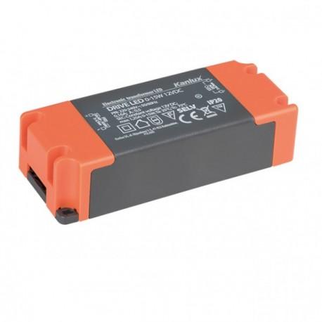 Led transformátor napěťový Kanlux DRIVE LED 0-15W 12V DC2  (23860)